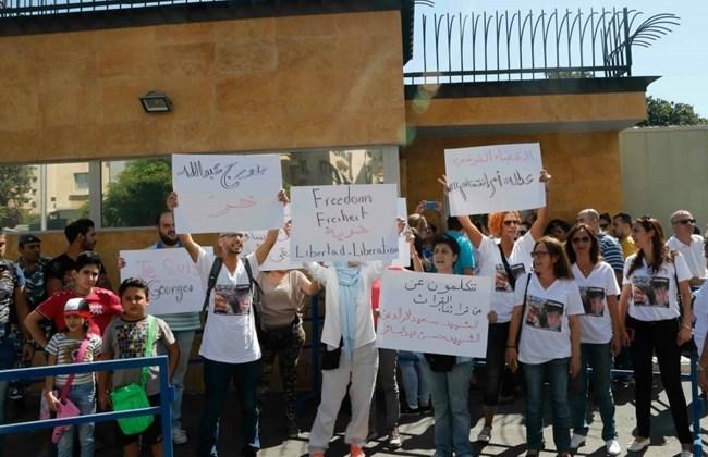 A Beyrouth, on exige la libération de Georges Abdallah.