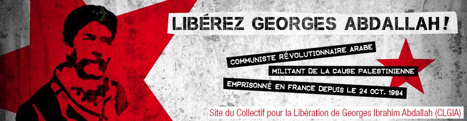 Libérons Georges Abdallah !